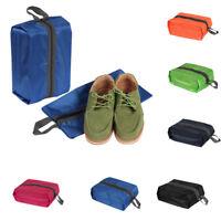 GI- KQ_ Waterproof Travel Zipper Shoe Storage Bag Sundries Pouch Home Organizer