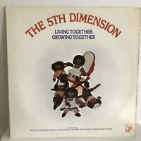 THE  5TH  DIMENSION         LP        LIVING  TOGETHER, GROWING  TOGETHER