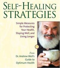 SELF-HEALING STRATEGIES by Andrew Weil ( Unabridged ) 4 CD Set ~ New, Sealed