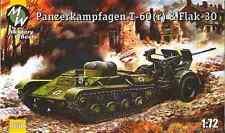 1/72 Panzerkampfwagen T-60 743(r) & Flak 30 - Military Wheels 7258