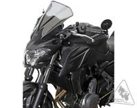MRA Motorcycle Windshield For Kawasaki Z650 '17-'19 | Racing Screen - Smoke Grey