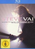 STEVE VAI - WHERE THE WILD THINGS ARE/2XBLU-RAY 2 BLU-RAY NEW+
