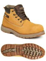 Mens APACHE Flyweight Leather Safety Toe/Midosle Work Boots Sizes 7 8 9 10 11 12