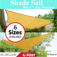 90% UV PE Proof Sun Shade Cloth Canopy Shadecloth Sail Roll Mesh  New