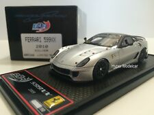 BBR Model 1/43 Ferrari 599 XX 2010 Silver Matt Brown Met. Art. BBRC26B