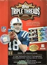 2006 Topps Triple Threads Football Factory Sealed Hobby Box