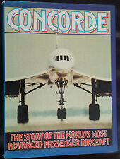 Concorde By FG Clark & Arthur Gibson - Hardcover 1976 1st Edition
