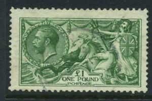 1913 GB £1 SG 403 Used Cat £1400