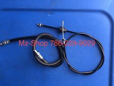 MZ TS ETZ 250/251/301 BRAKE HOSE AND CLOCHE CABLE