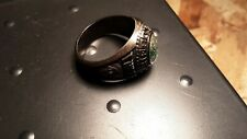 Vintage Used 1986 Size 11 1/2 Cheboygan Mi Highschool Class Ring