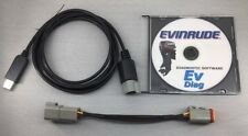Evinrude FTDI diagnostic set for FICHT and ETEC + Bootstrap tool BRP P/N 586551