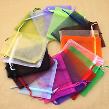 Lot of 80 Organza Gift Bag Jewelry Pouch Wedding Favor Case