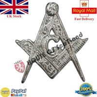 New Scottish Wear Glengarry Cap Badge Masonic/Highlander Hat Cap Badges Chrome
