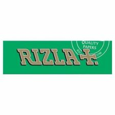Rizla Green Smoking Cigarette Papers Full Box Of 100 Booklets Only £16.39