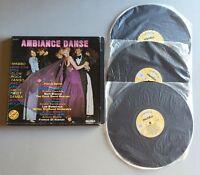 Ref513 3 Vinyles 33 Tours Coffret Ambiance Danse
