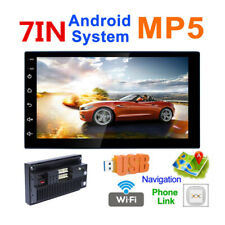 Car Stereo 2 Din Radio Android 8.0 GPS Navigation Touchscreen Audio Stereo USB