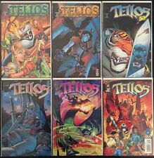 Lot Of 6 TELLOS Image Comic Books #2,3,5,6,7,8 Mike Wieringo Series 1999 NM