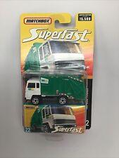 Matchbox Superfast #22 RARE Refuse Truck Waste Management Garbage Truck