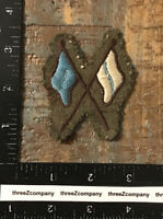 Original WW2 Royal Canadian Corps of Signals Wool RCCS SSI Patch Badge Rare