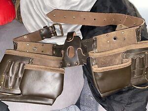 Vintage Leather Tool Belt