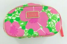 Lilly Pulitzer For Estee Lauder Cosmetic Make Up Travel Bag Pink Floral