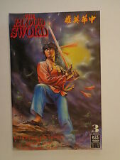 The Blood Sword MA Wing Shing M Baron T Wong #3 Jademan Comic October 1988 NM