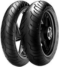 Pirelli Diablo Strada Coppia Pneumatici 4 Stagioni 120/70ZR17 + 180/55ZR17 per Yamaha FZ6 600