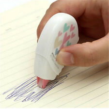 Office School Supplies Novelty Cute Heart Shaped 10m White Correction Tape USA