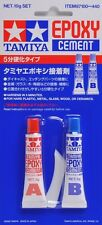 Tamiya 87100 Epoxy Cement Glue(A+B, 10g) For Metal Plastic Model Craft Tools