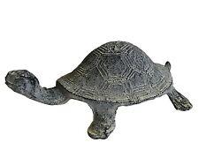 style ancienne satute sculpture d animaux tortue en fonte 22cm de decoration