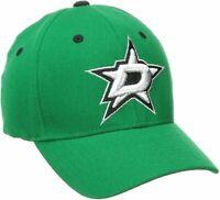 NHL Zephyr Dallas Stars Mens Breakaway Hat, X-Small, Kelly