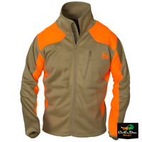 NEW BANDED GEAR UPLAND SOFT SHELL FULL ZIP JACKET BLAZE AND KHAKI