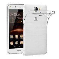 Custodia Cover Case slim silicone trasparente per Huawei Y6 II 2 Compact LYO-L01
