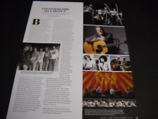 Glenn Frey and The Eagles 2016 two-sided original music biz Promo Display Page