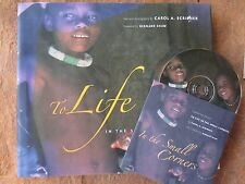 To Life in Small Corners + DVD Carol Scribner -indigenous people hc/dj SIGNED