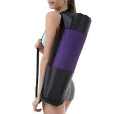 Strap Shoulder Sling Adjustable Gym Tote Carry Zip Exercise Yoga Mat Carrier Bag