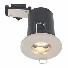 Lap Fuego Clasificado Cromo Cepillado Downlight de bajo voltaje 12 V-Nuevo