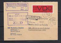 DDR Dienst D - Mi-Nr. 3 auf Beleg ZKD - vertauliche Dienstsache