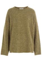 Traumpullover von IRO mit Wolle in edlem Moosgrün khaki grün, M, neu