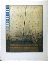 VTG Print Serigraph Karl Fred Dahmen Pencil Signed Limited Edition Number 75