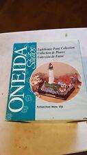 """1998 Oneida Studios Lighthouse Collection Portland Head Maine - 6"""" x 4 1/2"""" x 6"""""""