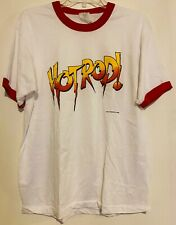 Vtg WWF Hot Rod T Shirt 1986 Rowdy Roddy Pipers XL 1980's Ringer Original WWE