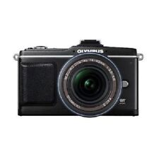 USED Olympus E-P2 12.3MP with 14-42mm Black Excellent FREE SHIPPING