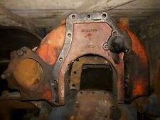MARSHALL, LEYLAND OR NUFFIELD TRACTOR ENGINE BELL HOUSING PLATE.