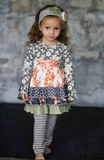 NWT Giggle Moon Baby Wall Of Jasper Madison Dress Set With Leggings SIZE 6X