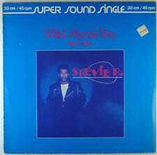 "12"" Maxi - Stevie B. - Wild About You (Part 1 & 2) - F454 - cleaned"