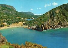 Paleocastritsa - CORFU - GREECE - 1976 Original Real Photo Postcard (EPH)