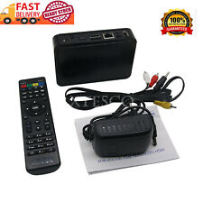 IPTV Set Top TV Box 256M Wifi Media Player Linux System STi7105 Processor Black*