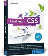 Einstieg in CSS von Peter Müller (2015, Taschenbuch)