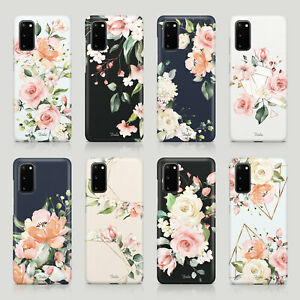 Tirita Case for Samsung S20 S10 S8 S9 S7 English Rose Vintage Floral Shabby Chic